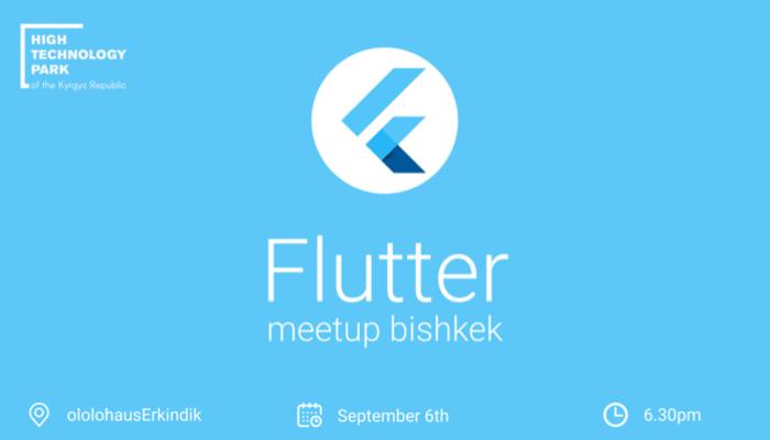 Flutter Meetup Bishkek